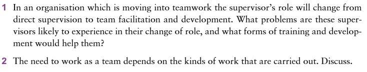 Team Effectiveness 10