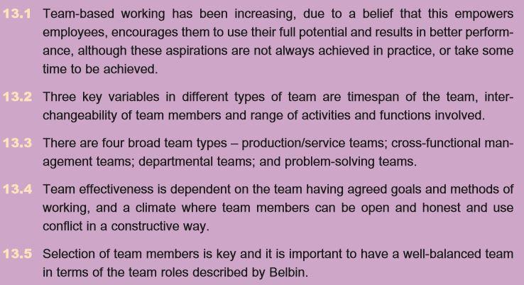 Team Effectiveness 8