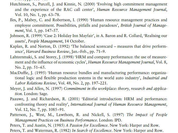 Major Performance Initiatives 14