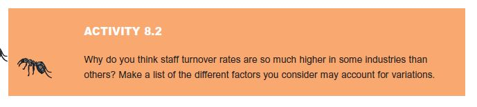 Turnover Rates and Trends 4