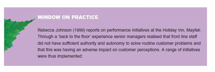 Do People-Management Processes Contribute to High Performance? 4