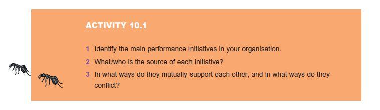 Major Performance Initiatives 7