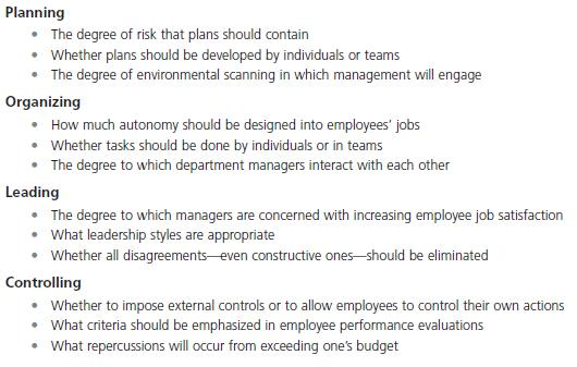 Organizational Culture Constraints and Challenges 11