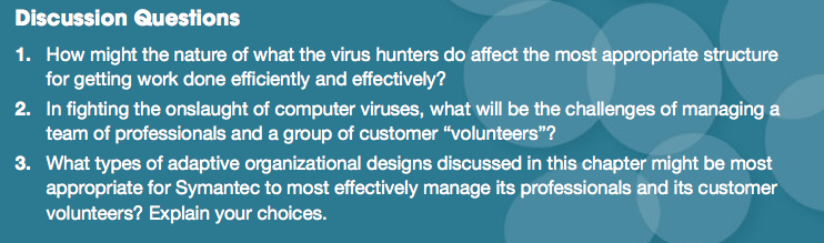 Case Application 2 The Virus Hunters 11