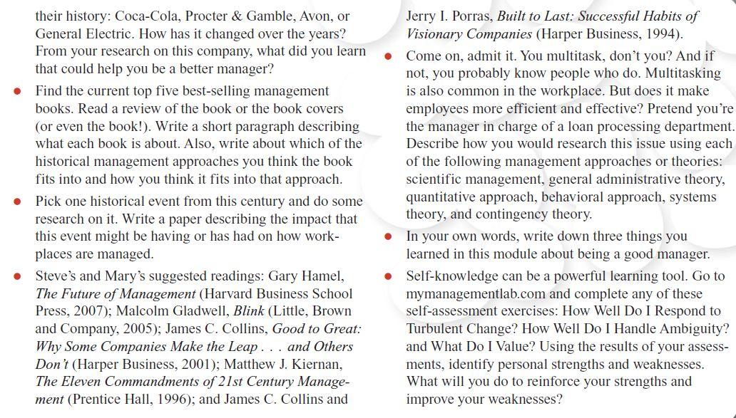 Management History Module 42