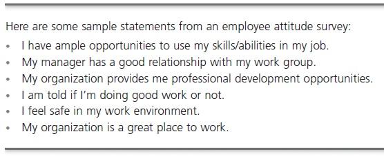 Attitudes and Job Performance 6