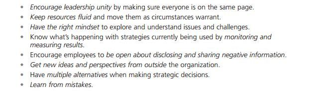 Current Issues of Strategy Management 7