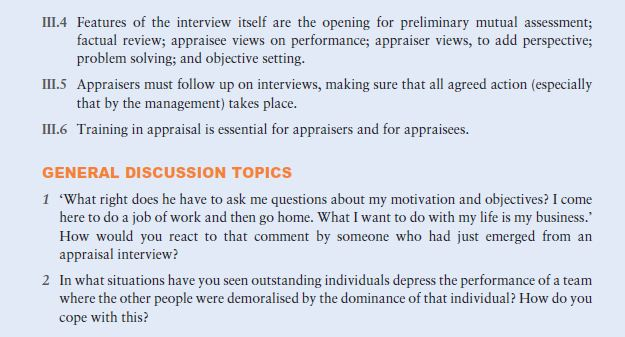 Contrasting Approaches to Appraisal 10