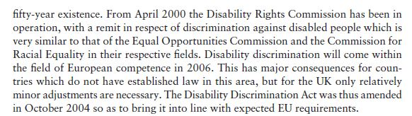 Disability Discrimination 11