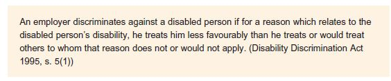 Disability Discrimination 12