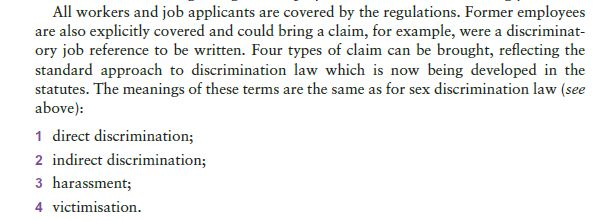 Discrimination on Grounds of Sexual Orientation 14