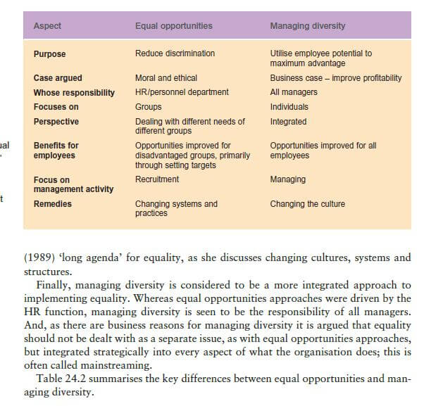 Different Approaches to Equality 20