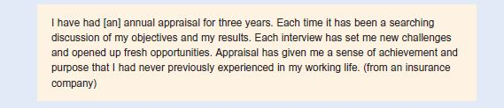 The Appraisal Interview 3