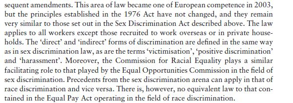 Race Discrimination 7