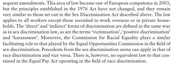 Race Discrimination 7