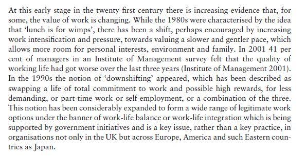 Work-Life Balance 1