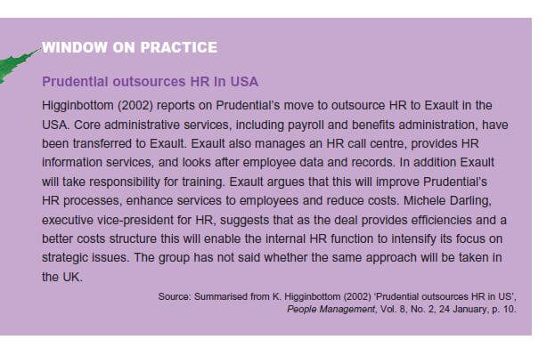 Effective and Efficient HR Provision 10