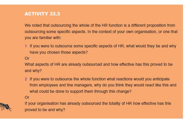 Effective and Efficient HR Provision 11