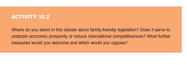 The Legislative Context: Family-Friendly Law 11