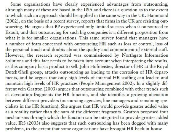 Effective and Efficient HR Provision 12
