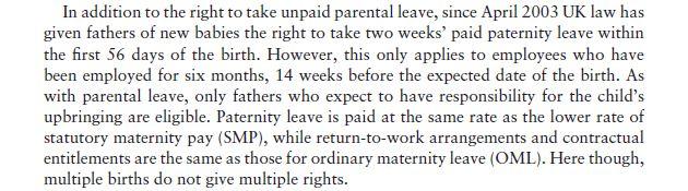 The Legislative Context: Family-Friendly Law 7